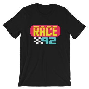 Race 92 Logo Short-Sleeve Unisex T-Shirt