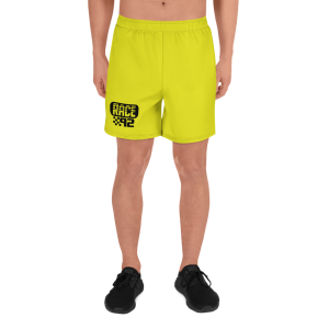 Men's Vintage Race 92 Neon Yellow Shorts