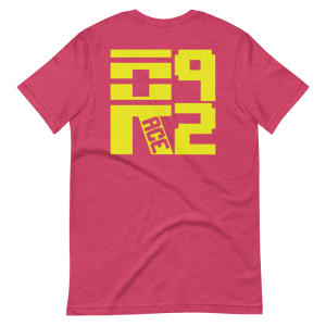 Race 92 Logo Bricks Short-Sleeve Unisex T-Shirt