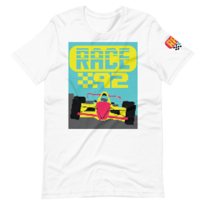Race 92 Video Game Short-Sleeve Unisex T-Shirt