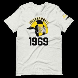 Bobby Unser 1969 Helmet Short-Sleeve Unisex T-Shirt