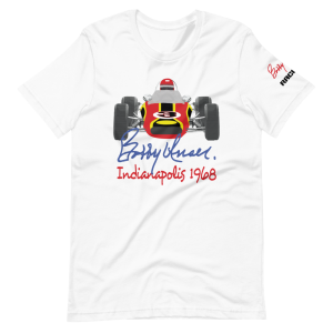 Bobby Unser 1968 Car Short-Sleeve Unisex T-Shirt