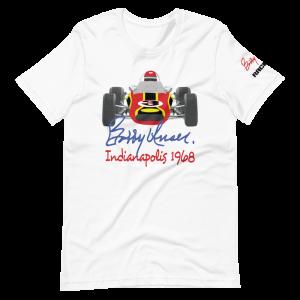 Bobby Unser 1968 Car Short-Sleeve Unisex T-Shirt