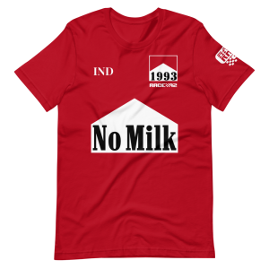 No Milk 1993 Emmo O.J. Short-Sleeve Unisex T-Shirt