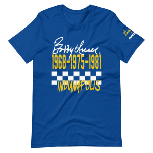 Bobby Unser 3 Time Winner Short-Sleeve Unisex T-Shirt