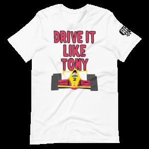 Drive It Like Tony Short-Sleeve Unisex T-Shirt