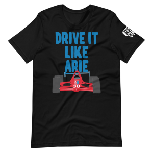 Drive It Like Arie Short-Sleeve Unisex T-Shirt