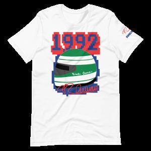 Roberto Guerrero 1992 Helmet Short-Sleeve Unisex T-Shirt