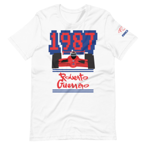 Roberto Guerrero 1987 Short-Sleeve Unisex T-Shirt