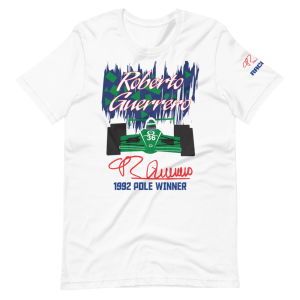 Roberto Guerrero 1992 Pole Winner Short-Sleeve Unisex T-Shirt