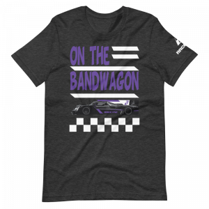 On The Bandwagon David LandShort-Sleeve Unisex T-Shirt