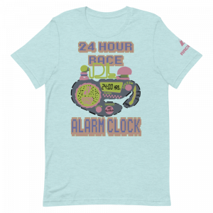24 Hour 90's Alarm Clock David Land Short-Sleeve Unisex T-Shirt