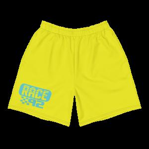 Men's Vintage Race 92 Neon Yellow Shorts